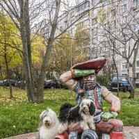 собачки в сказочном городе - Бия -пират! :: Лариса Батурова