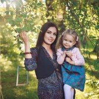 Катерина с дочкой :: Мария Дергунова