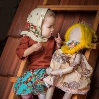 Две подружки :: Наташа Шамаева