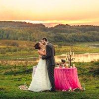 Свадебная фотосессия на закате :: Ольга Невская