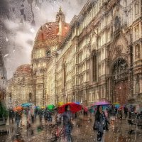 Во Флоренции дождь... :: GaL-Lina .