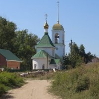 Дорога к храму :: Вера Щукина