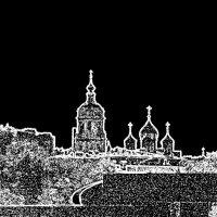 Новоспасский мужской и Храм Сорока Севастийских Мучеников в Спасской Слободе :: Юрий Журавлев
