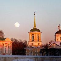 Лунный вечер в Кусково :: Александр Поляков