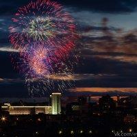 Салют в день города - Новосибирску 120 лет! :: Evgeny Donskov