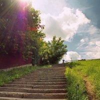 Бронницы,прогулка по набережной :: Евгений Жиляев