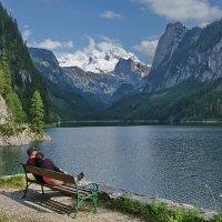 Парочка у озера :: Вальтер Дюк