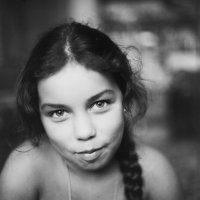 портрет девочки с косой :: Айдимир .