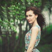 Юля и ветер :: Мария Евстафьева