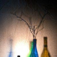 Натюрморт с бутылками :: Олег Мишунов