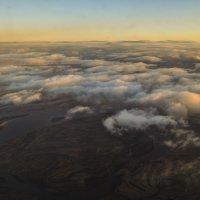Вид из иллюминатора самолета :: Карина Гусарева