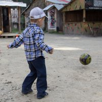 Игра с мячом :: Юлия Уткина