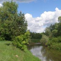 Пейзаж с речкой :: Сергей Михальченко