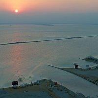 "Вид на Мертвое Море с гостиницы ""Меридиан"" :: Lidiya Dmitrieva"