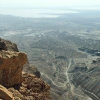 Вид на Мертвое Море с крепости Масада :: Lidiya Dmitrieva