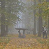 Осень в парке. :: Харис Шахмаметьев