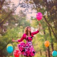Не держите зла! ЛУЧШЕ держите воздушные шарики! :: Наталья Ковалева