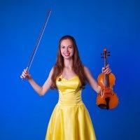 Девушка со скрипкой :: Darya Lavinskaya