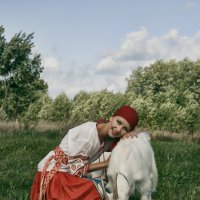 portrait on the skirts of the village :: Kirill Alba