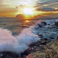 шторм на закате :: viton