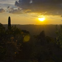 Закат в Тоскане :: Сергей Лошкарёв