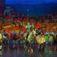 """Сцена из балета """"Дон Кихот"""". Ижевск – город в котором я живу! :: Владимир Максимов"""