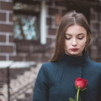 """Autumn rose"" - осенняя роза. Фотограф в Белгороде Руслан Кокорев :: Руслан Кокорев"