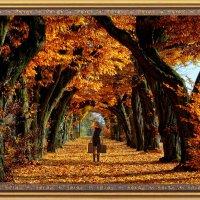 Уходящая в Осень .... :: Aleks Ben Israel