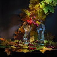 Адам,Ева и осень..... :: Svetlana Sneg