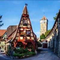 Ротенбург- самый романтичный город в Германии. :: Eduard .
