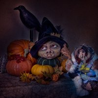Ночь перед Хэллоуином :: Нина
