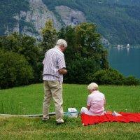 Пикник для двоих ... :: Алёна Савина