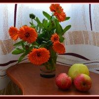 букет и яблоки :: Валентина Папилова
