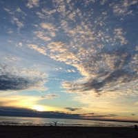 Безмятежный закат на Финском заливе :: Оксана Ярёменко