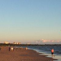 Летний вечер на заливе :: Оксана Ярёменко
