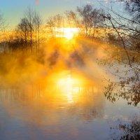 Туманные рассветы октября...4 :: Андрей Войцехов