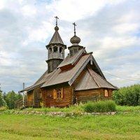 Храм во имя святителя Василия Великого в Имоченцах :: Олег Попков