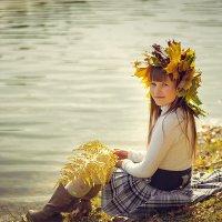 Я люблю осень за уют, за краски, за палитру опавшей листвы. Каждый раз ощущение сказки... :: Анна Хотылева
