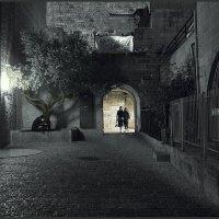 Вечер в старом городе Иерусалим :: Shmual Hava Retro