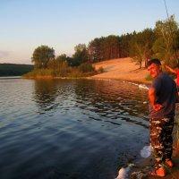Ловись рыбка... :: Татьяна Пальчикова
