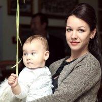 Глеб и крестная Виктория :: Ксения Антосяк