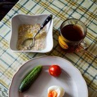Завтрак холостячки :: Марина Кушнарева