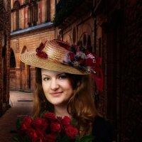 Дама с розами :: Владимир Безбородов