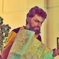 Путешественник, писатель Антон Кротов на лекции в Красноярске :: Екатерина Торганская