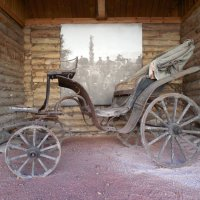 Старая карета.19 век. :: Мила