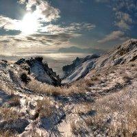 """Снег на отрогах гор..."" :: viton"