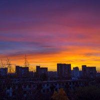 Фантастический восход над Москвой :: Игорь Герман