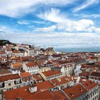 Вид на Лиссабон с площадки лифта Санта Жушта :: Ирина Лепнёва