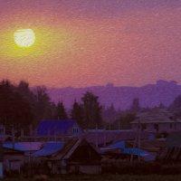 Вечер над Уфой :: Георгий Морозов