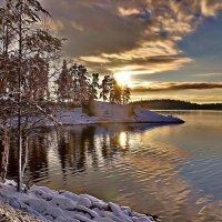первый снег... :: Ольга Cоломатина